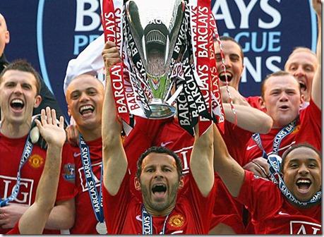 Man Utd Champs