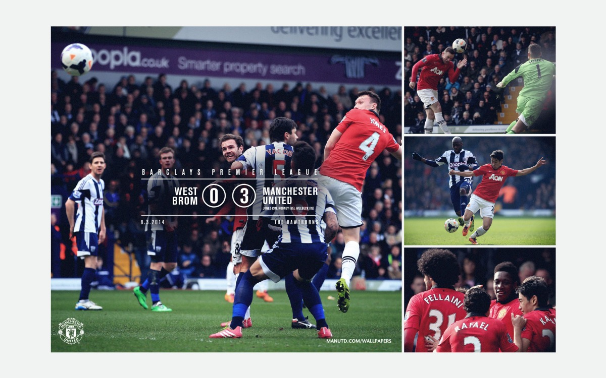 Ben Barclay Wallpaper: West Brom 0:3 Manchester United (Barclays Premier League